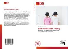 Bookcover of Self-verification Theory