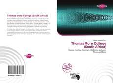 Borítókép a  Thomas More College (South Africa) - hoz