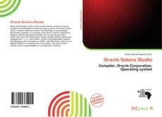 Capa do livro de Oracle Solaris Studio