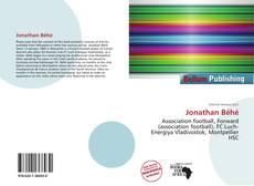 Portada del libro de Jonathan Béhé