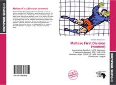 Bookcover of Maltese First Division (women)