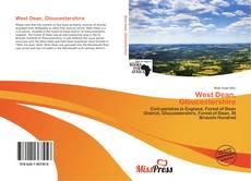 Capa do livro de West Dean, Gloucestershire