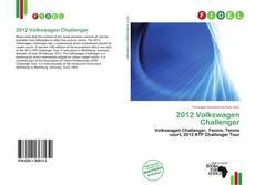 Portada del libro de 2012 Volkswagen Challenger