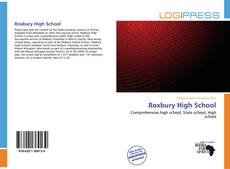 Bookcover of Roxbury High School