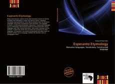 Borítókép a  Esperanto Etymology - hoz