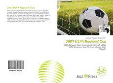 Bookcover of 2003 UEFA Regions' Cup