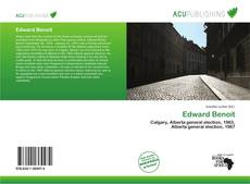 Bookcover of Edward Benoit