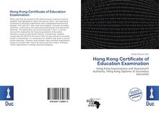 Borítókép a  Hong Kong Certificate of Education Examination - hoz