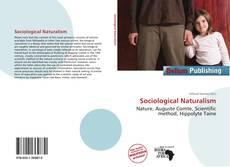 Capa do livro de Sociological Naturalism