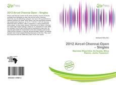 Capa do livro de 2012 Aircel Chennai Open – Singles