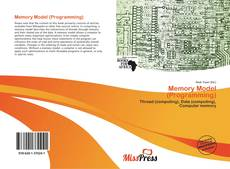 Bookcover of Memory Model (Programming)