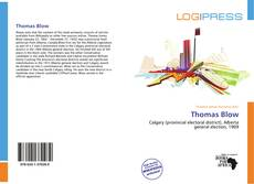 Bookcover of Thomas Blow