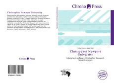 Bookcover of Christopher Newport University