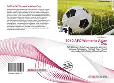 Bookcover of 2010 AFC Women's Asian Cup