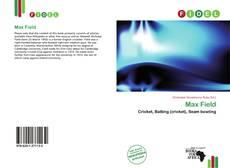 Bookcover of Max Field