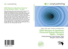 2005 Western & Southern Financial Group Women's Open – Singles kitap kapağı