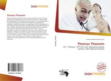Bookcover of Thomas Theorem