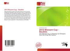 2012 Blossom Cup – Doubles kitap kapağı