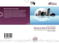 Capa do livro de Electoral district (Canada)