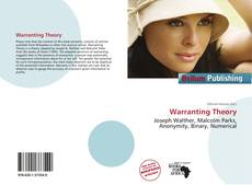 Bookcover of Warranting Theory