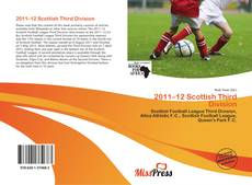 Capa do livro de 2011–12 Scottish Third Division