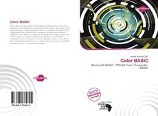 Bookcover of Color BASIC