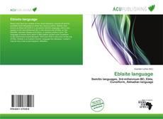 Bookcover of Eblaite language