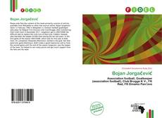 Bookcover of Bojan Jorgačević