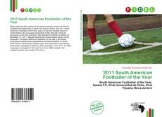 Bookcover of 2011 South American Footballer of the Year