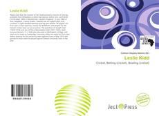 Bookcover of Leslie Kidd