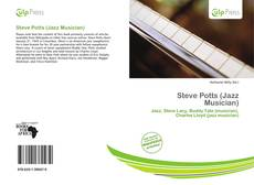 Portada del libro de Steve Potts (Jazz Musician)