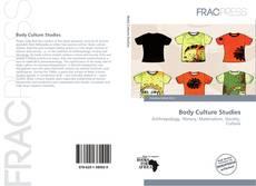 Capa do livro de Body Culture Studies