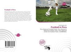 Copertina di Football in Peru