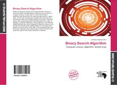 Copertina di Binary Search Algorithm