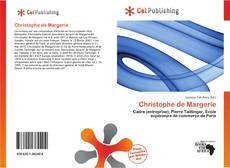 Bookcover of Christophe de Margerie