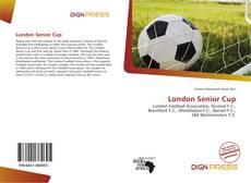 London Senior Cup kitap kapağı
