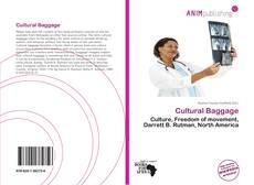 Buchcover von Cultural Baggage
