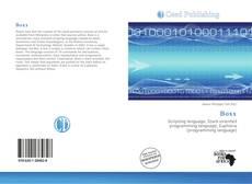 Bookcover of Boxx