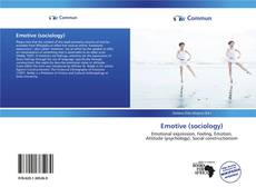 Copertina di Emotive (sociology)