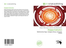 Bookcover of Kappa Calculus