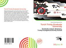 Bookcover of Torch Trinity Graduate University