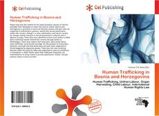 Bookcover of Human Trafficking in Bosnia and Herzegovina