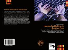 Bookcover of Human Trafficking in Burkina Faso