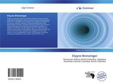 Bookcover of Elayne Brenzinger