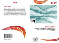 Bookcover of Susan Brice