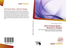 Couverture de 2012 Estoril Open – Women's Singles