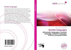 Bookcover of Semitic languages