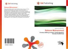 Bookcover of Saleem Mohammed