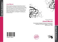 Bookcover of Josef Marek