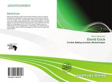 Capa do livro de David Cock